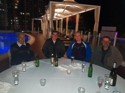 Kevin Wilson, Greg Wilson, David Luck & Justin Heinz