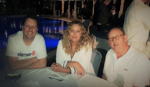 Matt McCann, Tina Morris (Visy Plastics) & Brian Stevens