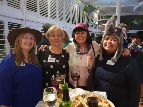 Valerie Douglas, Terry Davidson, Margaret Pearson, Fay Peffer