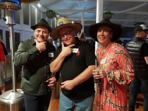 Wayne Dunne (VISY Board), Warren Peffer, Michelle Dunne