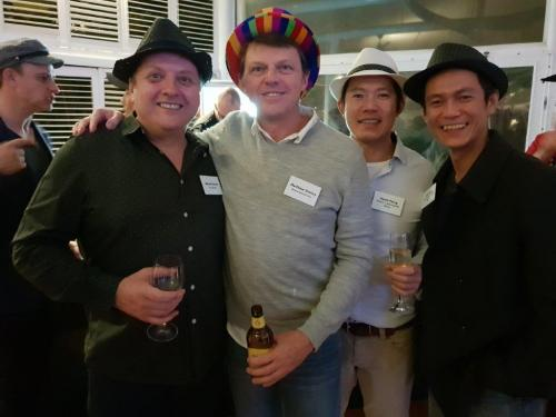 Wayne Dunne (VISY Board), Matthew Shelley, David & John Paing