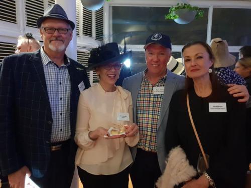 Kerry Nichols, Dimity Lear, Mark & Sally Ahern (Orora)