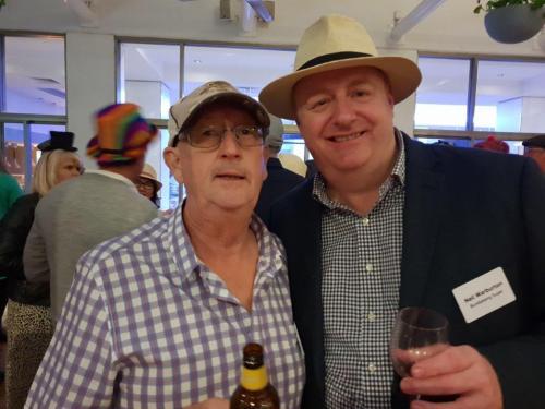 Brian Stevens, Neil Warburton (Bundaberg Sugar)