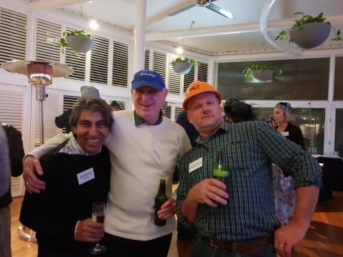 Michele Pizzata, Ken Pearson (Plasdene Glass-Pak), Murray Rosenberg
