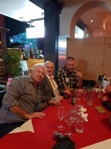 Darren Shelley, Ken Pearson (Plasdene-GlassPak), Murray Rosenberg