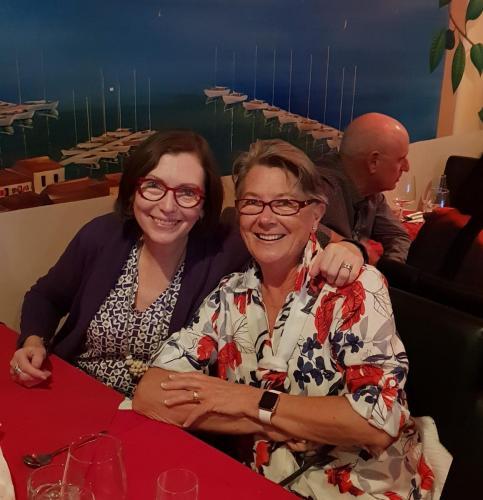 Lynn Newberry (Sugar Australia) & Elizabeth Etherington