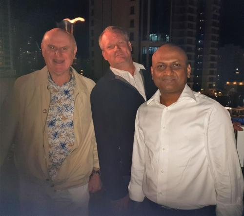 Ken Pearson (Plasdene), Murray Rosenberg & Nasir Chowdhury
